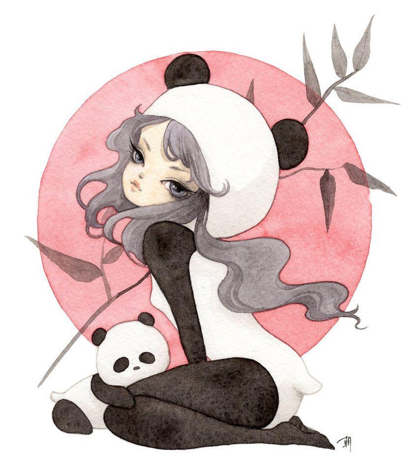 Pin on Panda Art