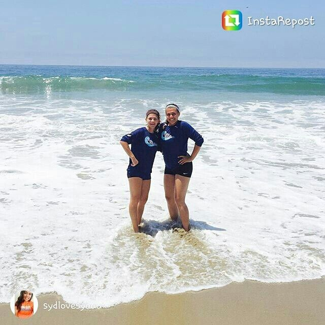 Syd And Kay At Pepperdine Volleyball Camp Volleyball Camp Couple Photos Volleyball