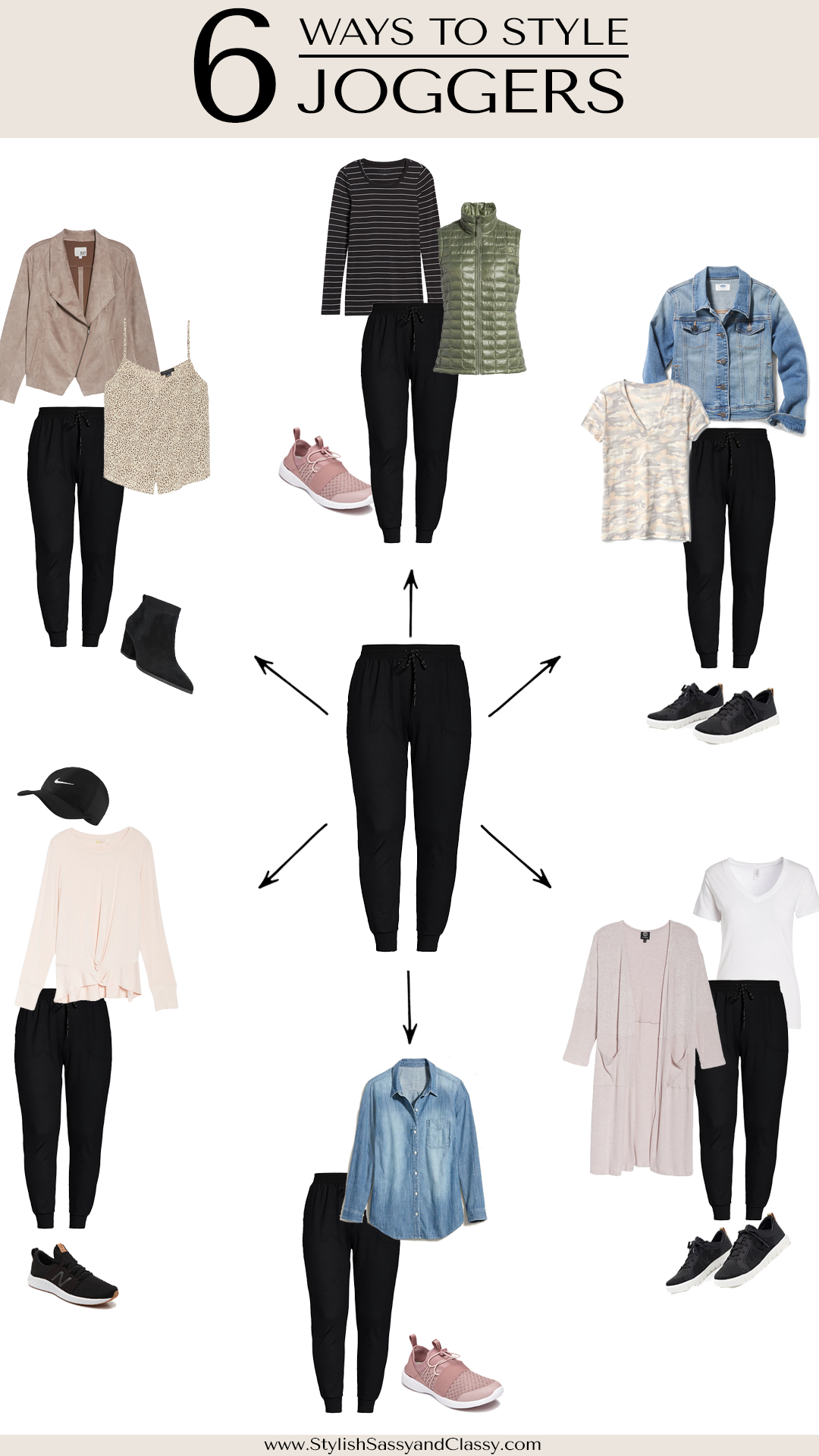 6 Ways To Style Joggers