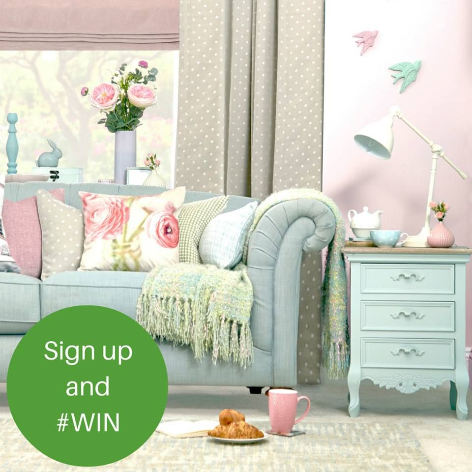 Green Living Room Ideas For Soothing Sophisticated Spaces: Fancy Winning A #DunelmHaul? Sign Up To Our