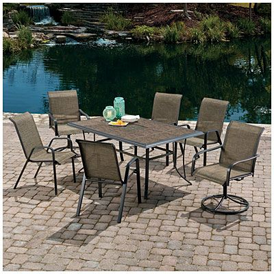 Wilson U0026 Fisher® Monterra Sling Dining Set At Big Lots.