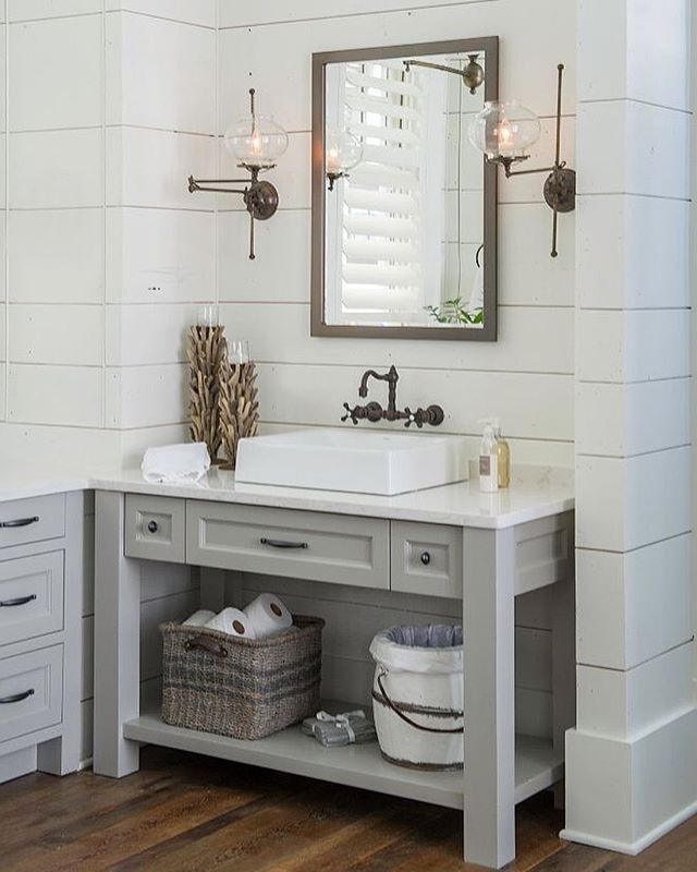 This Weeks Favorites All Under $100 On Beckiowensshiplap Impressive Bathroom Cabinets Design Design Decoration