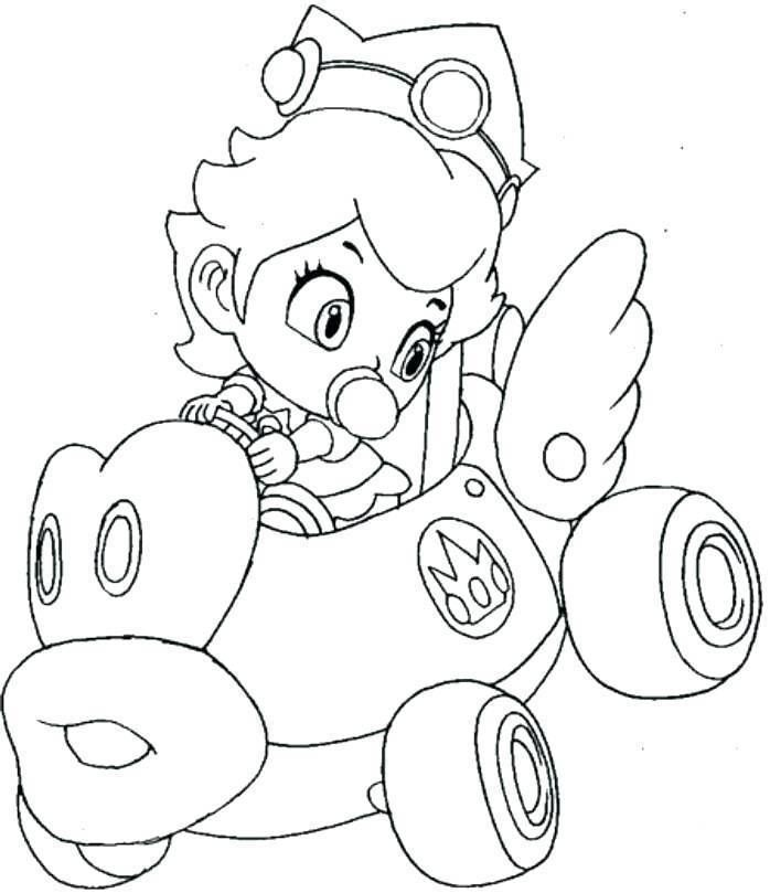 Coloriage Mario Bros
