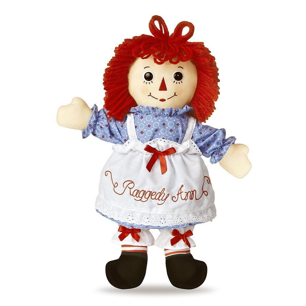 "Aurora World Raggedy Andy Classic Doll 12/"""