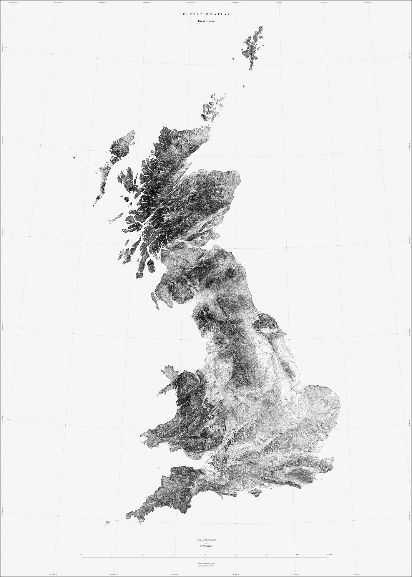 Great Britain Atlas Collection On Behance