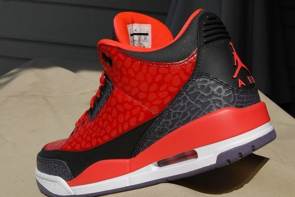"sports shoes b5fec 1f1fc Air Jordan 3 ""Raptor"" Custom by HaveAir Customs 