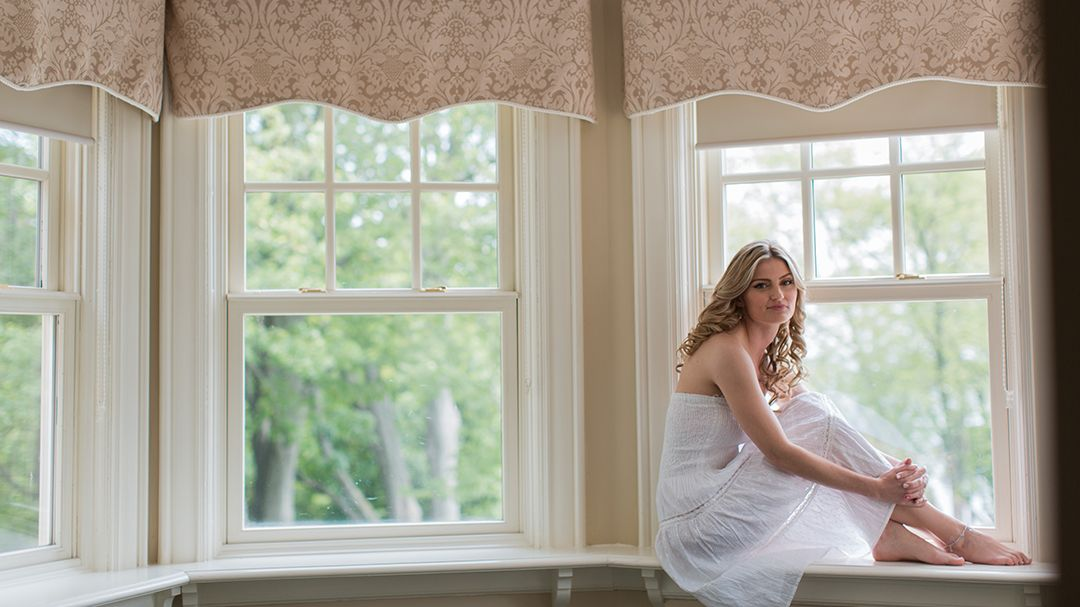Paletta Mansion Wedding | Kornelia and Bart | Bride portrait before getting into her gown  #torontoweddingphotographer #weddingphotography #bride ~ http://www.focusproduction.ca/wedding-photography-videography/kornelia-bart/
