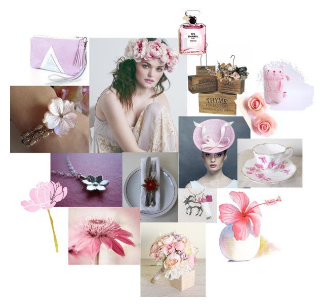 """In The Pink"" by inspiredbyten ❤ liked on Polyvore featuring Morgann Hill Designs and Chanel"