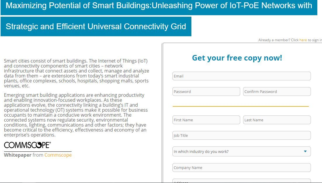 Maximizing Potential Of Smart Buildings Unleashing Power Of Iot Poe Networks With Strategic And Effi Smart Building Network Infrastructure Iot