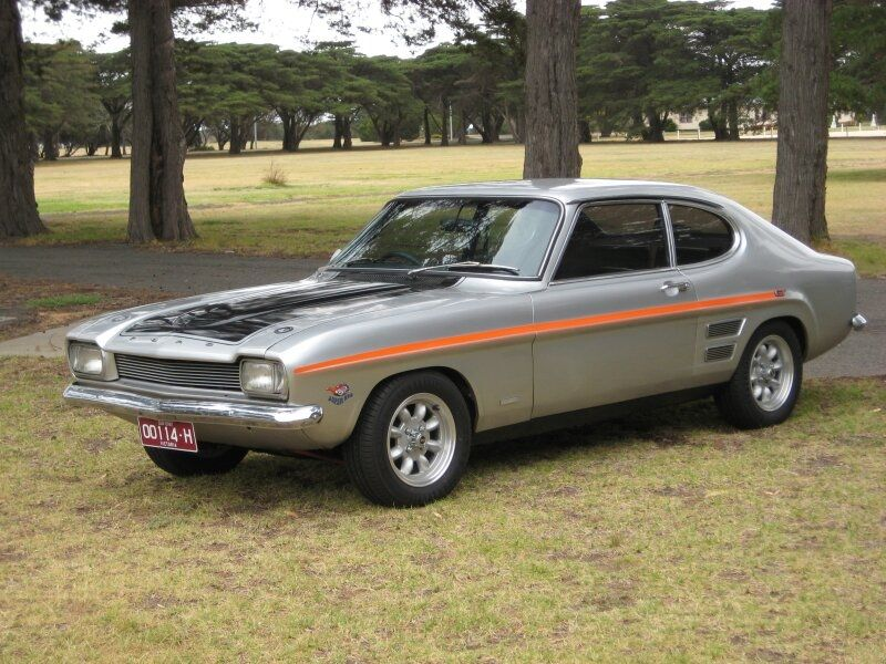 Ford Capri 3000gt V6 1972 Australian Sold Model With Non