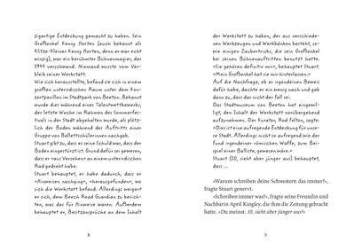 Lissa Evans / Temujin Doran: Stuart Horten. Sieben Rätsel und ein magischer Stern. Mixtvision Verlag. #kinderbuch #magie #abenteuer #illusionen #zauber