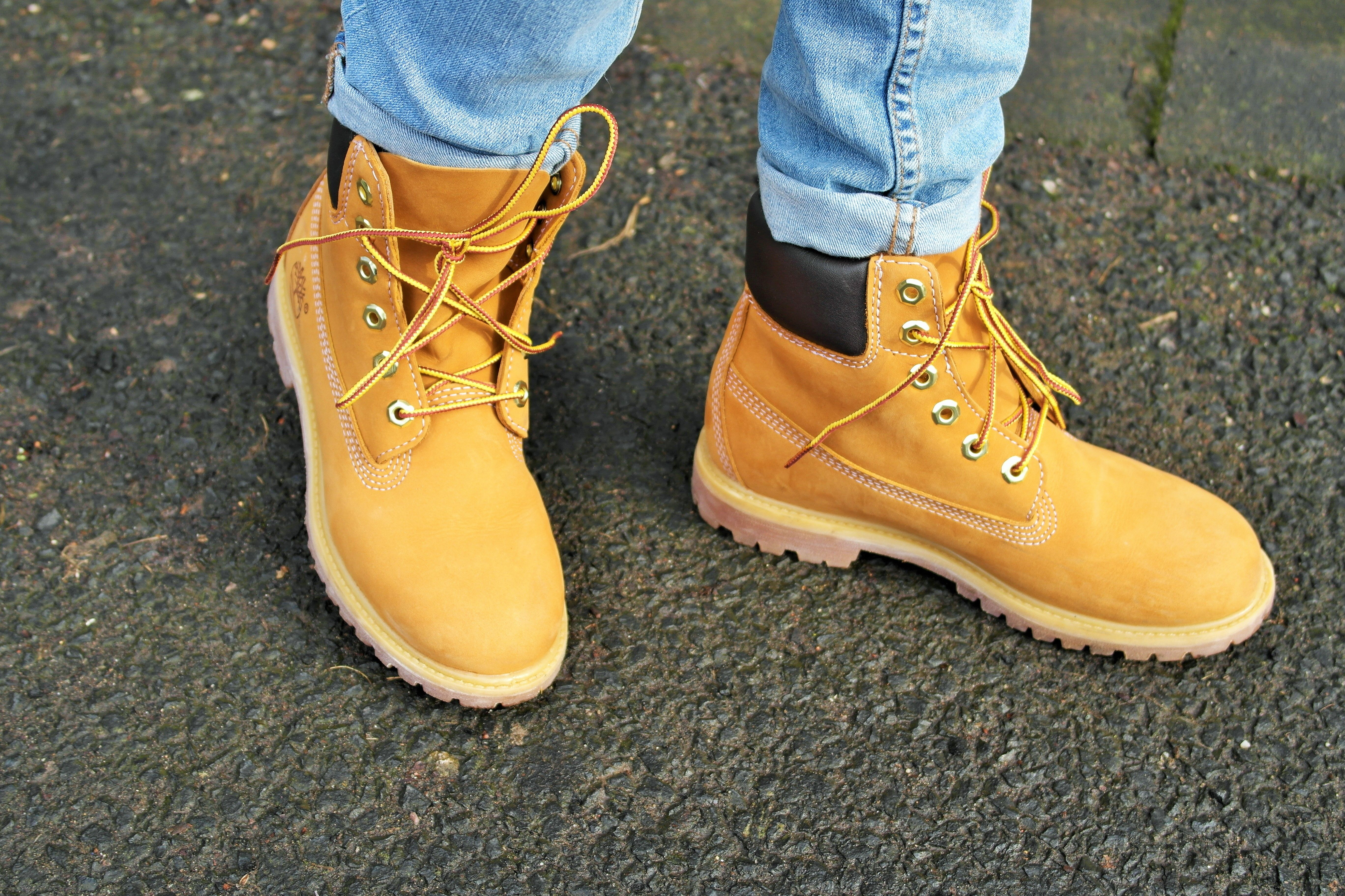 Timberlands shoes, Girlfriend jeans