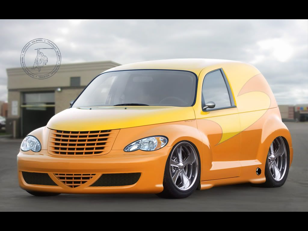 Custom Pt Cruiser 2 Door Panel
