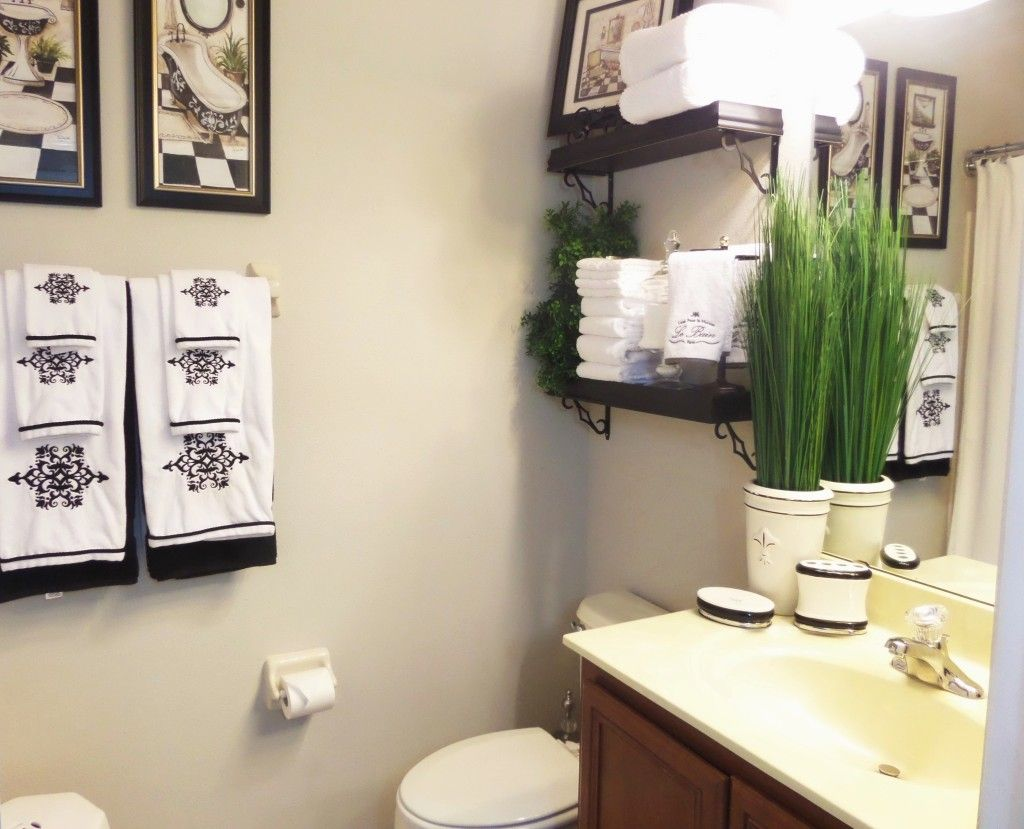 Guest Bathroom Decor | Home Organization Ideas | Pinterest | Guest ...