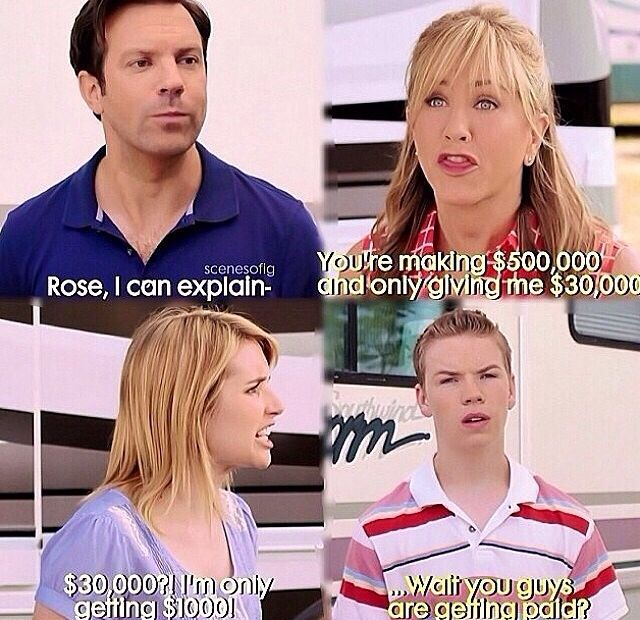 We're the Millers | Movie quotes funny, Tv show music ...