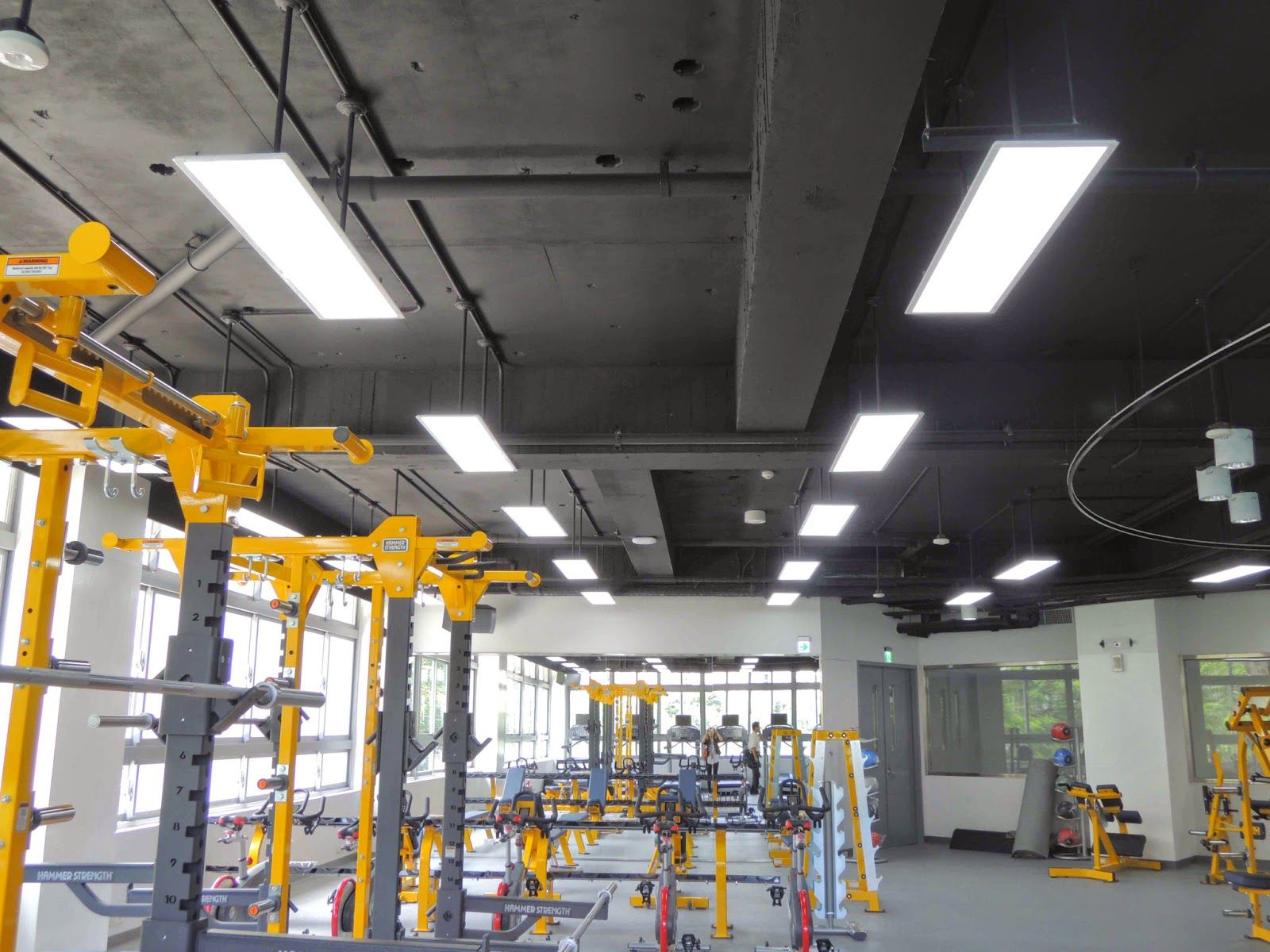LED flat panel lighting application with pictures