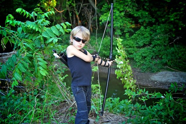 The Avengers Homemade Hawkeye costume! Part one: PVC Bow and Arrows~Life Sprinkled With Glitter