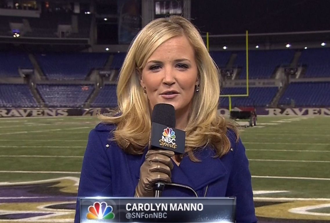 Carolyn Manno - NBC Sports | Female Sports Broadcasters ...