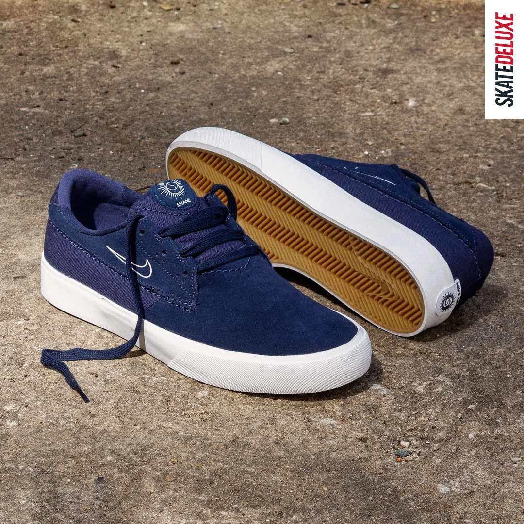 Nike SB Shane Schuh (midnight navy sail) | Nike sb schuhe, Nike sb ...