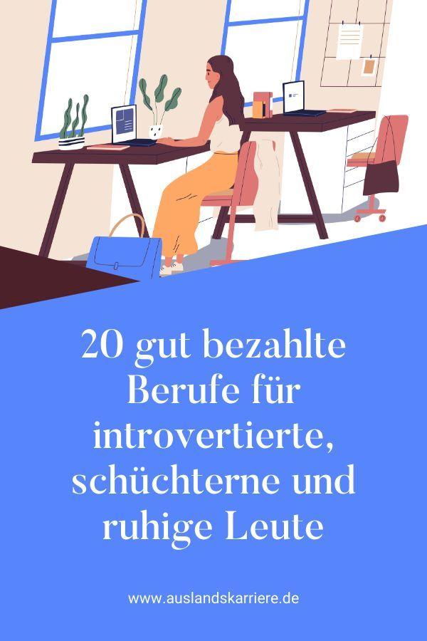 20 Berufe für introvertierte, schüchterne und ruhige Leute