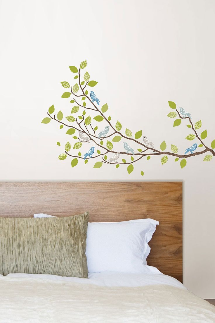 Sitting in a tree large wall art kit cosas pinterest walls