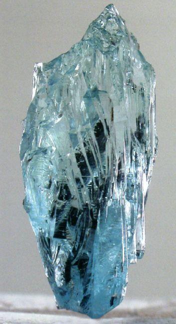 Голубой топаз, Южный Урал.