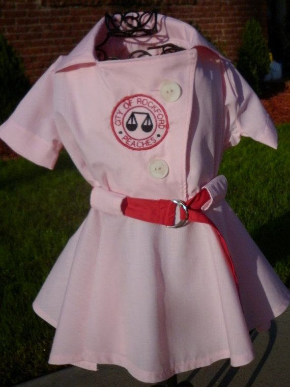 Dottie Dress or Rockford Peach costume from A League of Their Own by - 18 month halloween costume ideas