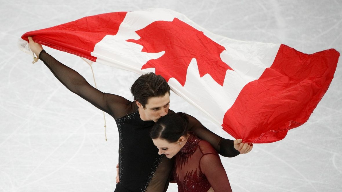 Light on the Olympics Virtue and Moir's last dance