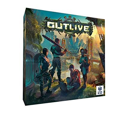 Outlive Board Game Toys & Games Board games