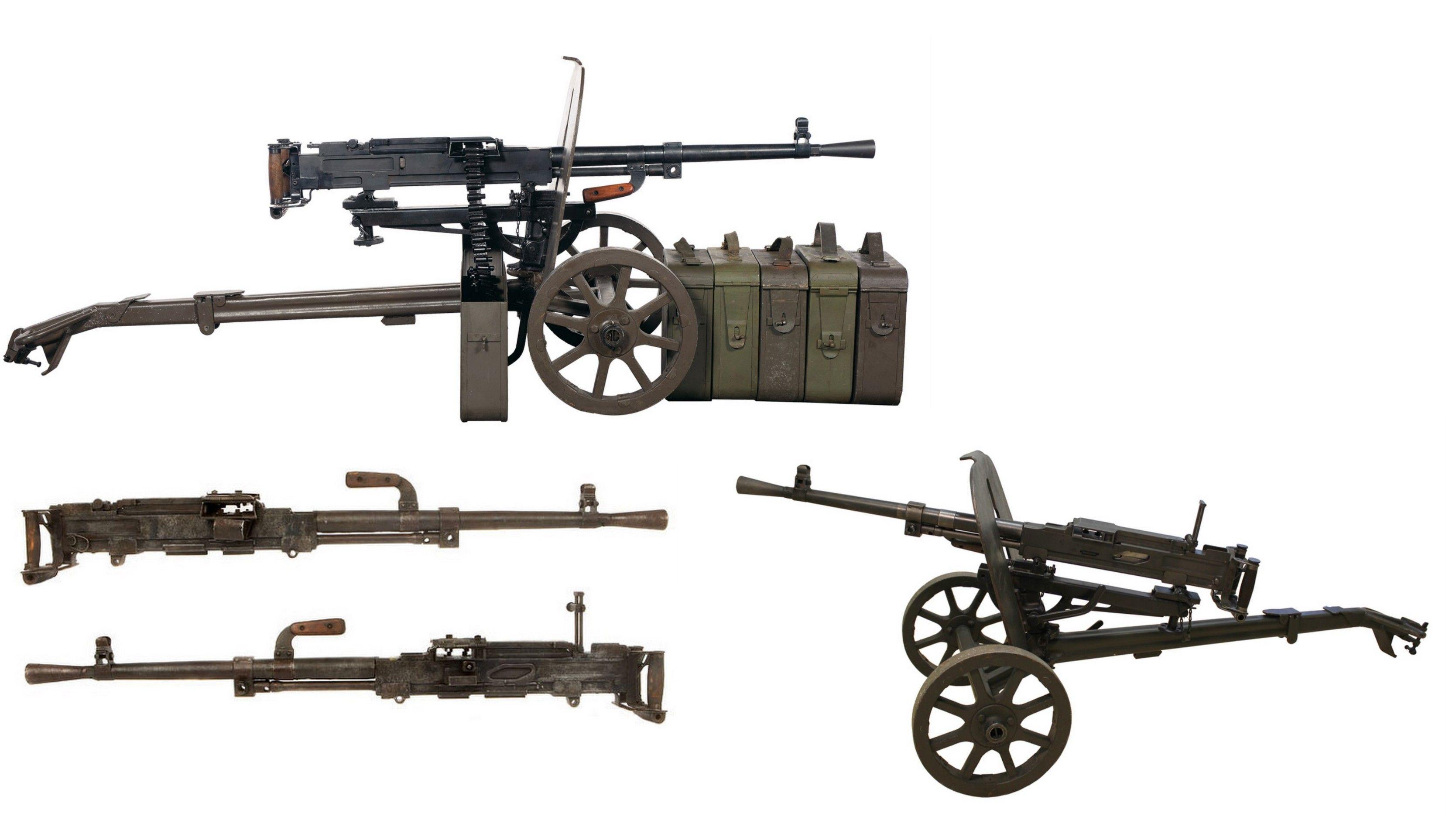 Станковый пулемет фото