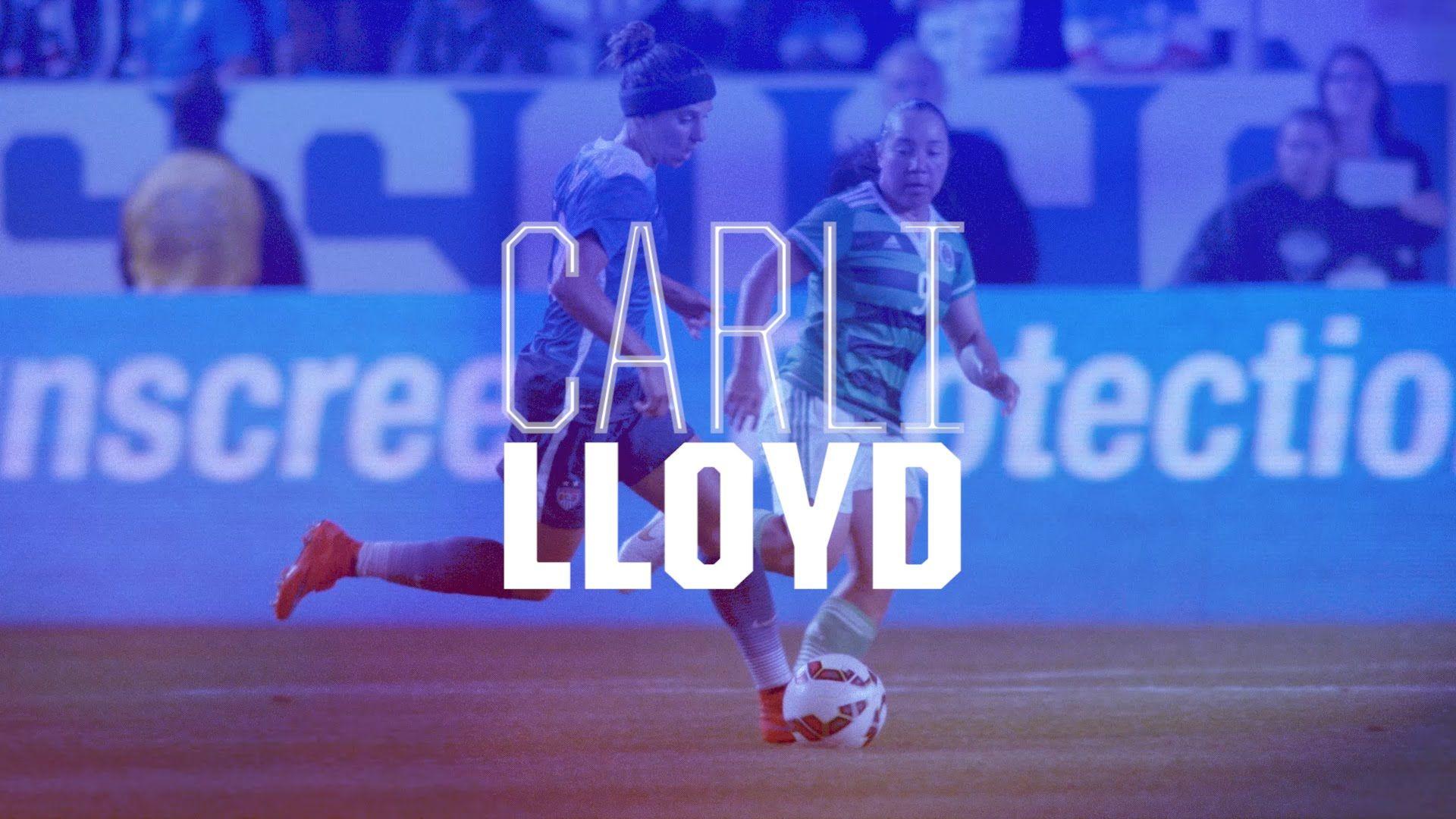 Carli Lloyd 2015 Uswnt Roster Video Card Carli Lloyd Soccer Inspiration Uswnt
