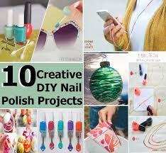 Resultado de imagem para nail polish crafts
