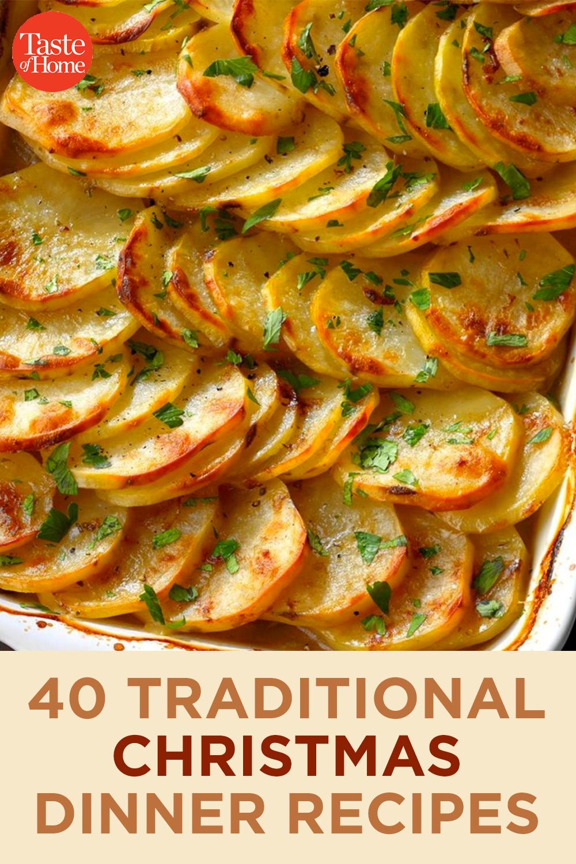 Christmas Dinner Recipes 2020 40 Traditional Christmas Dinner Recipes in 2020 | Christmas food