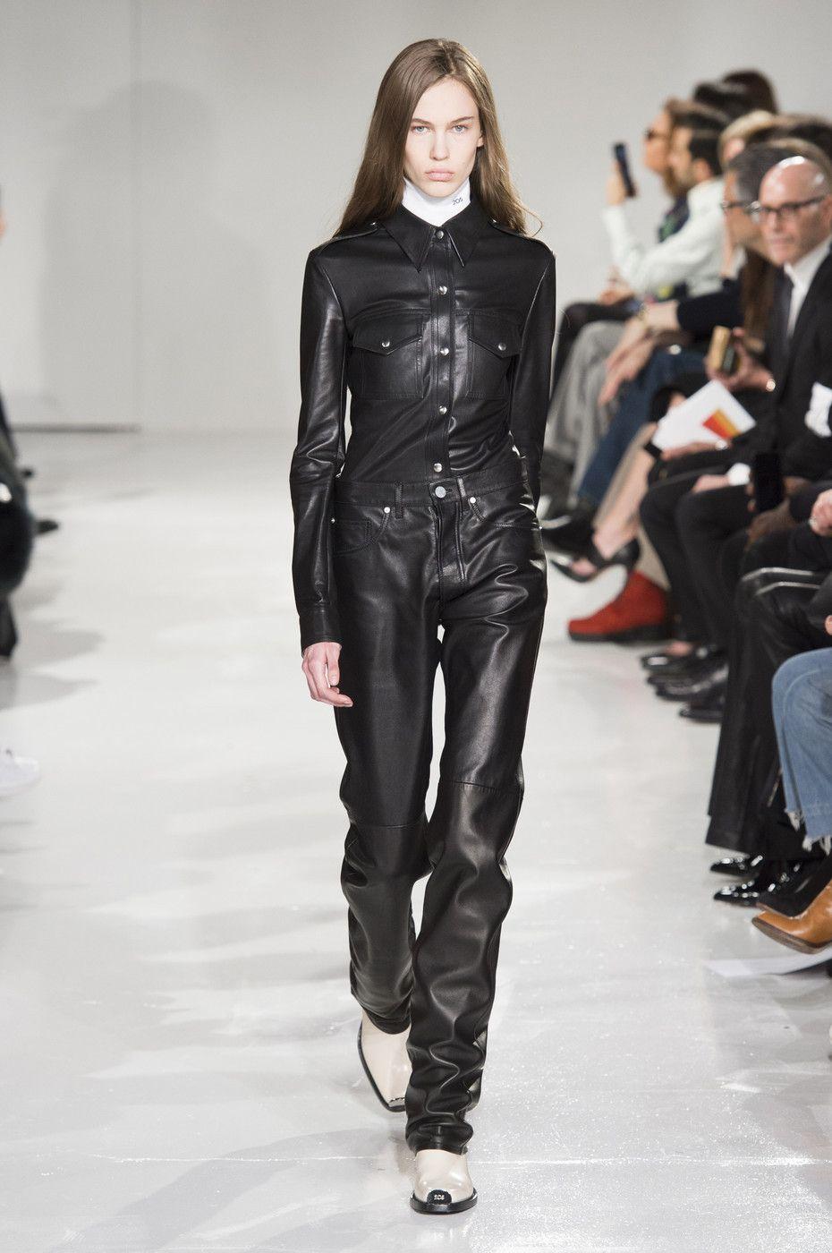 Lex Herl at Calvin Klein Collection RTW F/W 2017