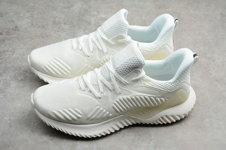 93f7bfa7e06b7 2018 Cheap Priced Newest Adidas Alphabounce HPC AMS 3M Beyond White AC8274  Shoe