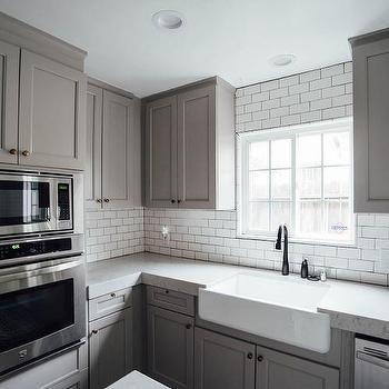 Best Noble Grey Quartz Countertops Gray Kitchen Backsplash 400 x 300
