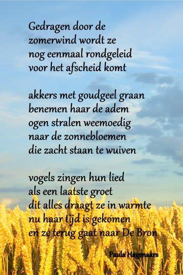 Citaten Voor Overlijden : Gedichten paula hagenaars mooie teksten overlijden