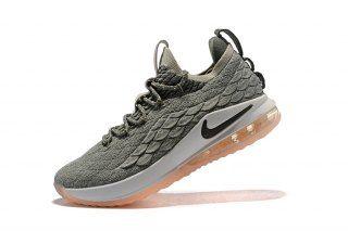 a5cc1799ea76 Nike LeBron 15 Low EP Light Bone Dark Stucco AO1756 003 Men s Basketball  Shoes James Shoes