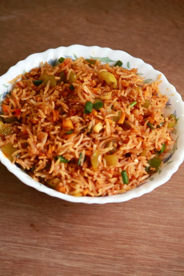 Schezwan Rice Tasty And Easy To Make Rice Recipe Indianfood Food