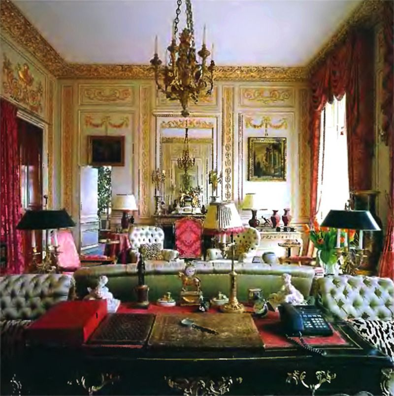 Luxury Paris Interiors/images | Luxury Home Living Room Interior Design  Ideas / Design Bookmark