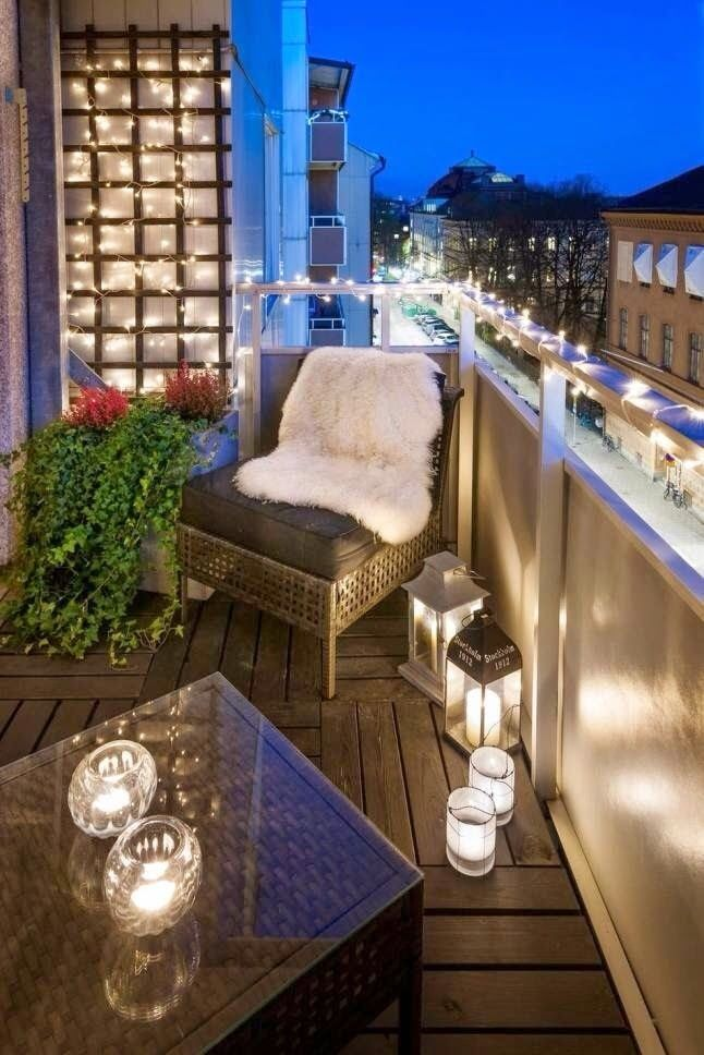 decorando com lanternas home idea balkon terrasse. Black Bedroom Furniture Sets. Home Design Ideas