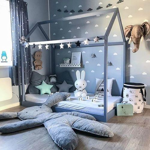 chambre d\'enfant moderne | I: Детская en 2019 | Kids room, Baby ...
