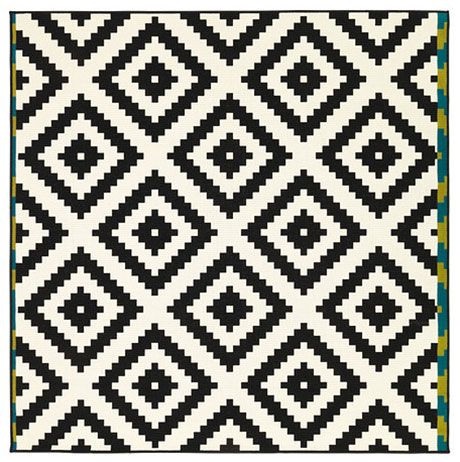 4 Graphic Area Rugs Under 200 Ikea Rug Black And White Decor