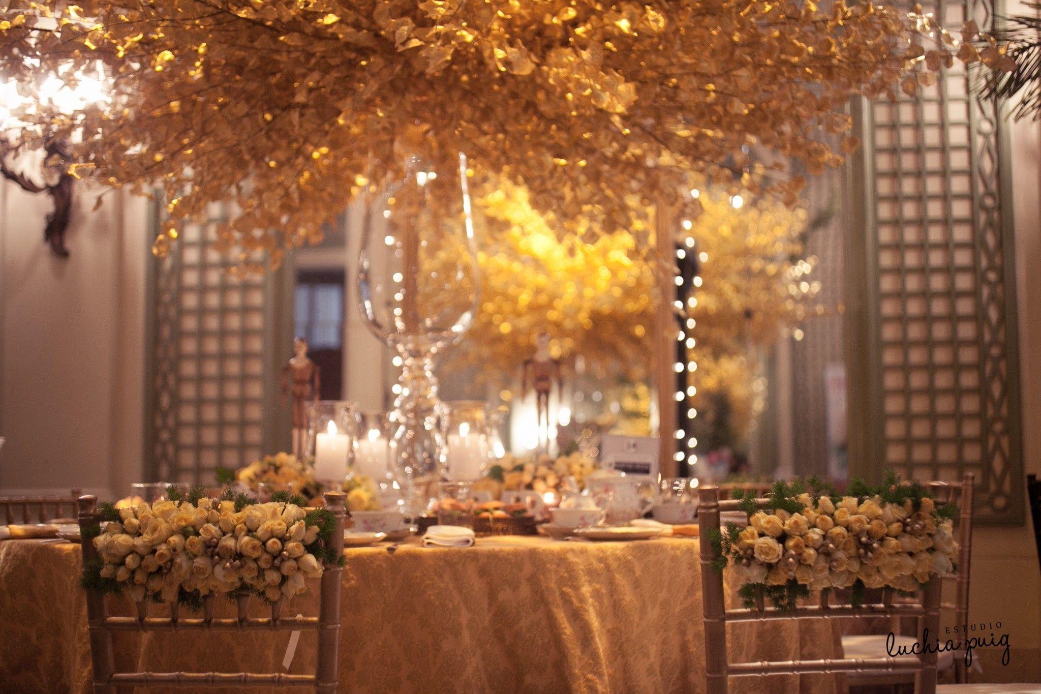 Decoración de mesas para casamiento por los mejores ambientadores del país