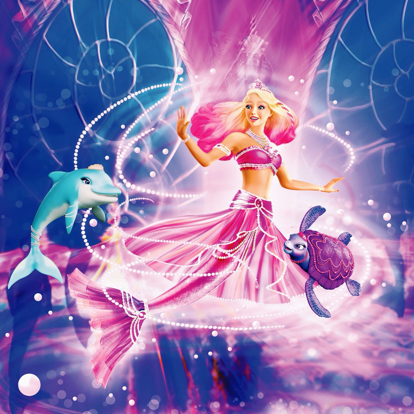 Princess lumina from barbie pearl princess l - Barbie princesses ...