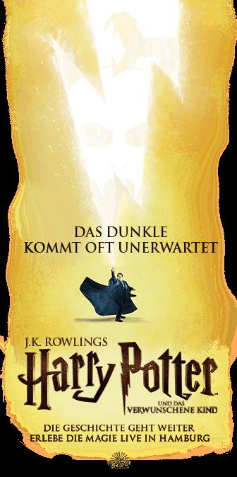 Harry Potter Und Das Verwunschene Kind Hamburg Das Verwunschene Kind Harry Potter Rowling Harry Potter