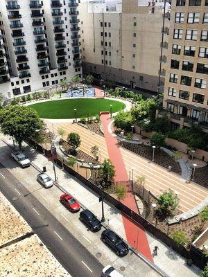 Praça sobre estacionamento - nova camada de uso urbano ~ ARQUITETANDO IDEIAS