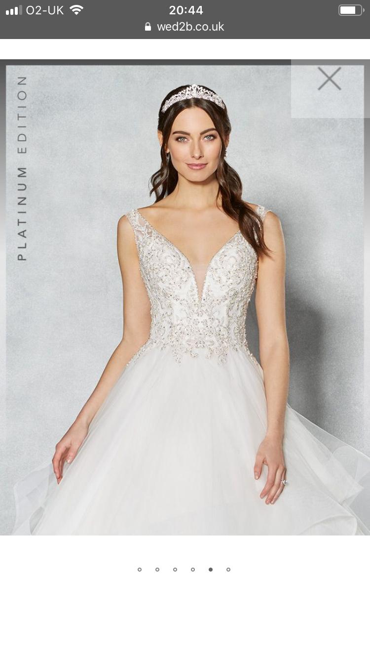 Brand new size 20 beautiful wedding dress   Sell my Wedding Dress ...