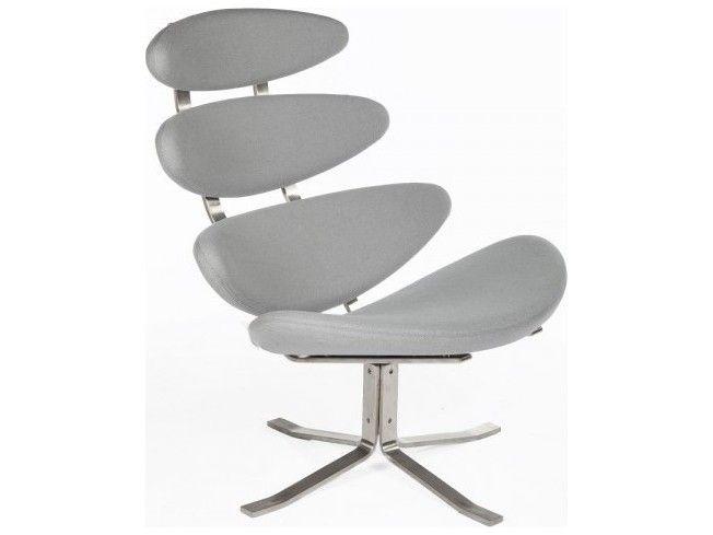 Stilnovo Madrid Grey Accent Lounge Chair | SNFEC3216GREY