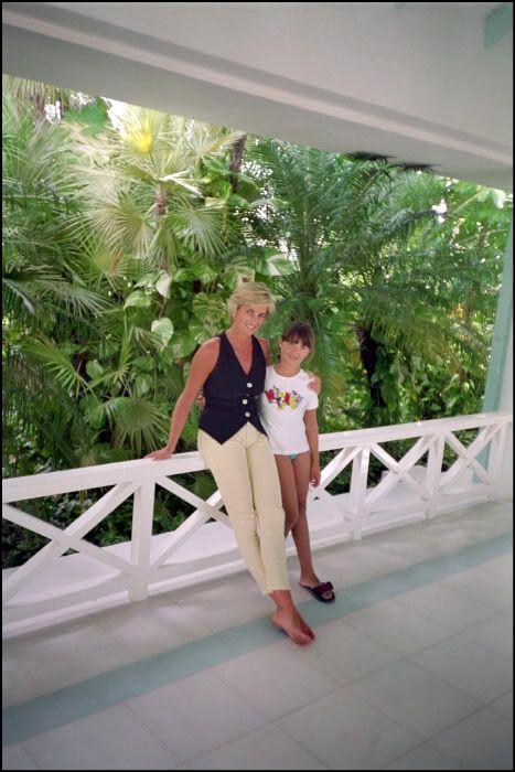 Princess Diana At the K Club Hotel, Barbuda
